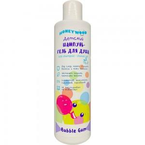 Дитячий шампунь-гель для душу Honeywood Bubble Gum