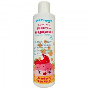 Дитячий шампунь-кондиціонер Honeywood Strawberry ice-cream