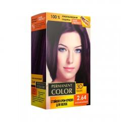 Крем-фарба Permanent Color тон баклажановий №2.64 Аромат