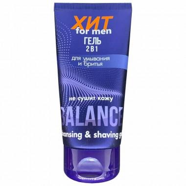 Гель 2 в 1 для вмивання і гоління Аромат