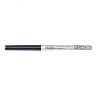 Заказать Пудровий олівець для брів тон 593 сіро-чорний, Luxury Беліта недорого