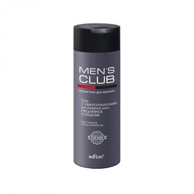 Гель з мікрогранулами для вмивання обличчя Щоденне очищення, Mens Club Беліта