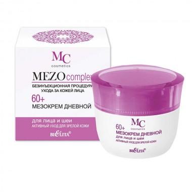 Заказать Мезокрем денний для обличчя і шиї 60+ Активний догляд для зрілої шкіри, Mezocomplex 60+ Беліта недорого