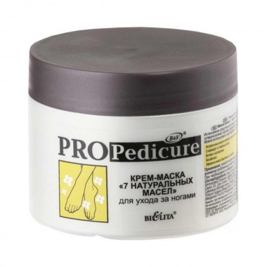 Крем-маска 7 натуральних олій для догляду за ногами, Pro Pedicure Беліта