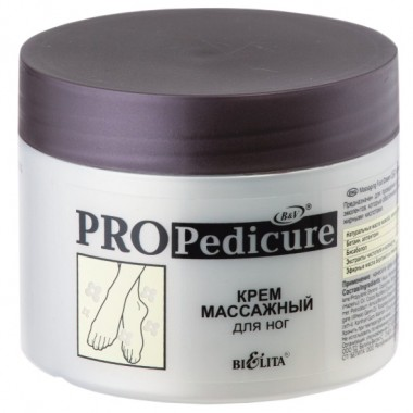Крем масажний для ніг, Pro Pedicure Беліта