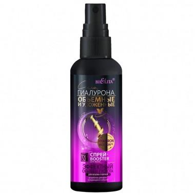 Спрей-Booster для волосся Ефектний об'єм і густота для об'єму біля коріння Сила гіалурону
