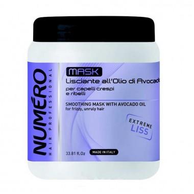 Маска для разглаживания волос с маслом авокадо, 1000 мл