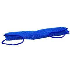 Мочалка для тіла Масаж синя, Буль-буль