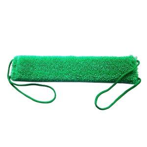 Мочалка для тіла Масаж зелена, Буль-буль