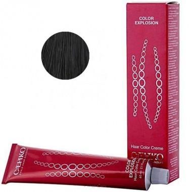 Крем-фарба 3/00 темно-коричневий (сивина), C:EHKO Explosion