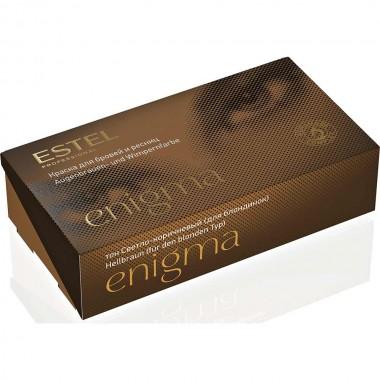 Заказать Краска для бровей и ресниц светло-коричневая (для блондинок) Estel Professional Enigma недорого