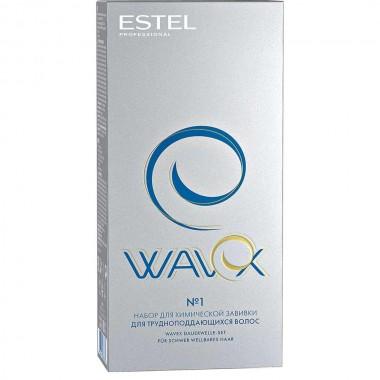 Заказать Набор для химической завивки для трудноподдающихся волос Estel Professional Wavex недорого