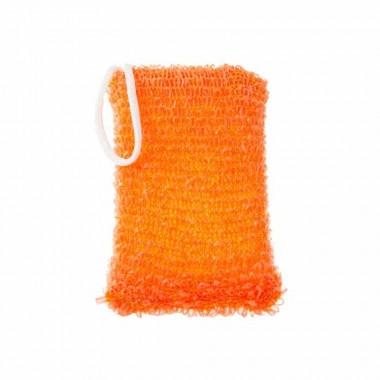 Мочалка для душа Энергия Здоровья МАКСИ оранжевая, ТМ Гарні Речі