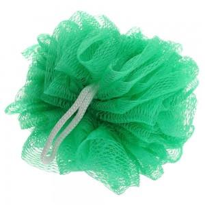 Мочалка для душа Бантик (зеленая) 50г