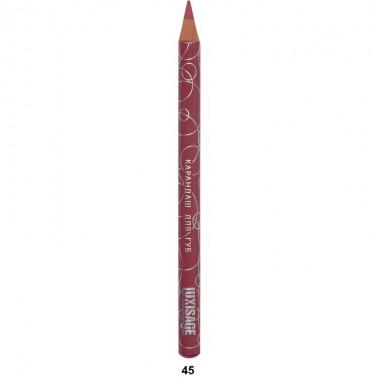 Контурний олівець для губ тон 45, Люкс Візаж