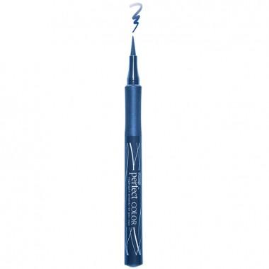 Підводка-фломастер для очей синя, Люкс Візаж Perfect Color