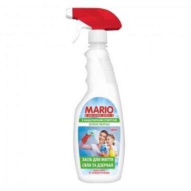 Средство для мытья стеклянных поверхностей Яблоко триггер 500 мл, Маротех