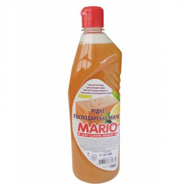 Жидкое мыло Хозяйственное Лимон 700 мл, Маротех