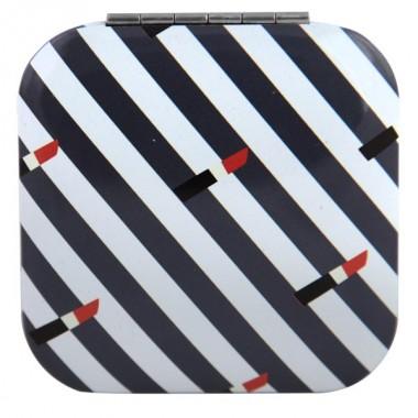 Дзеркало квадратне біло-синє М1031-2, Рапіра