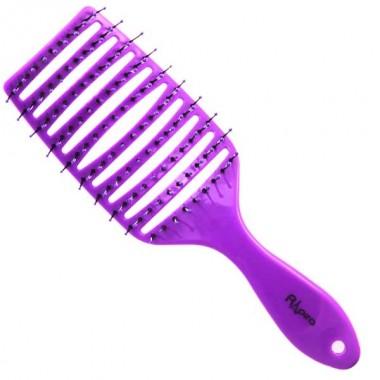 Заказать Щетка широкая продувная плоская ручка фиолетовая С0262-2 Рапира недорого