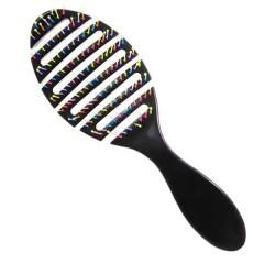 Щетка массажная черная С0260 Рапира