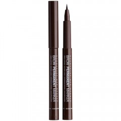 Фломастер для бровей Brow Permanent Marker тон 02 Brown, Relouis