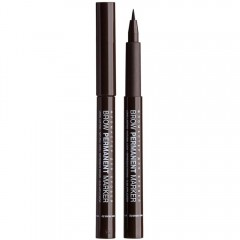 Фломастер для бровей Brow Permanent Marker тон 03 Dark Brown, Relouis