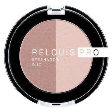 Заказать Тіні для повік Pro Eyeshadow Duo тон 101 Relouis недорого
