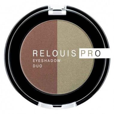 Заказать Тіні для повік Pro Eyeshadow Duo тон 110 Relouis недорого