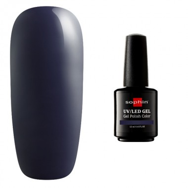 Заказать Гель-лак Sophin UV/LED № 0759, blackened blue недорого