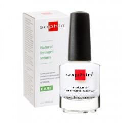 Суперактивна ферментована cироватка для тонких сухих нігтів та кутикули Sophin
