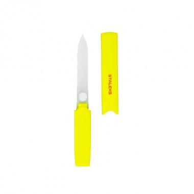 Пилка стеклянная в пластиковом футляре Beauty & Care 13 128 мм желтая FBC-12-128, Сталекс