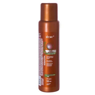 Лак для волос с жидким кератином сверхсильной фиксации, 500 мл, Keratin Styling Витекс