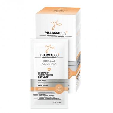 Біомаска поживна Anti-Age для обличчя, Pharmacos Вітекс