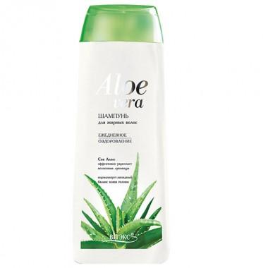 Шампунь для жирного волосся Щоденне оздоровлення Aloe vera Вітекс