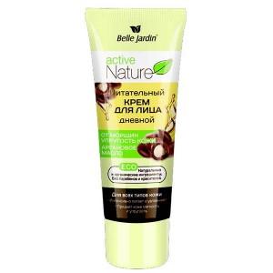 Питательный крем для лица дневной от морщин с аргановым маслом, Active Nature Eco Belle Jardin