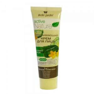 Заказать Відбілюючий крем для обличчя з екстрактом огірка, Active Nature Eco Belle Jardin недорого
