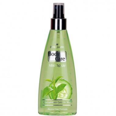 Заказать Парфумований спрей для тіла Body Care Cucumber Green (огірок, зелений чай), Belle Jardin недорого