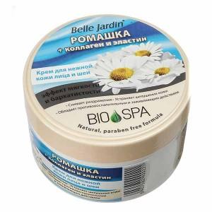 Крем для обличчя зволожуючий Ромашка, колаген та еластин, Spa naturelle Belle Jardin