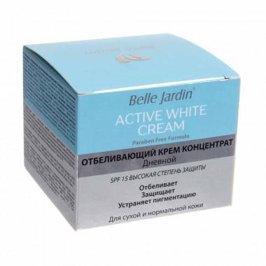 Крем-концентрат отбеливающий дневной SPF 15 (против пигментации), Belle Jardin
