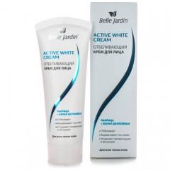 Відбілюючий крем для обличчя Лакриця і Біла шовковиця Activ white, Belle Jardin
