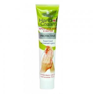 Крем для рук и ногтей защитный с оливковым маслом и витаминами А, Е, С, Belle Jardin