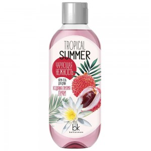 Крем-гель для душу водяна лілія лічі Tropical Summer