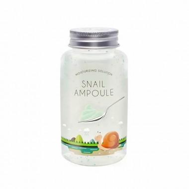 Поживний равликовий гель для обличчя Esfolio Ampoule