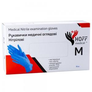 Заказать Рукавички нітрілові Hoff Medical, розмір M недорого