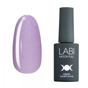 Гель-лак для нігтів Labi Glitter №G02 світло-бузковий з шимером