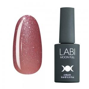 Гель-лак для нігтів Labi Glitter №G04 приглушений рожевий з шимером