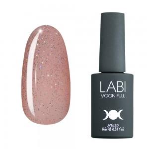 Заказать Гель-лак для ногтей Labi Glitter №G05 полупрозрачный персиковый с разноцветным шиммером недорого