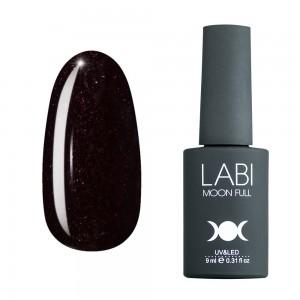 Гель-лак для нігтів Labi Glitter №G12 шоколадно-сливовий з шимером
