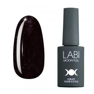 Гель-лак для нігтів Labi Glitter №G13 шоколадно-сливовий